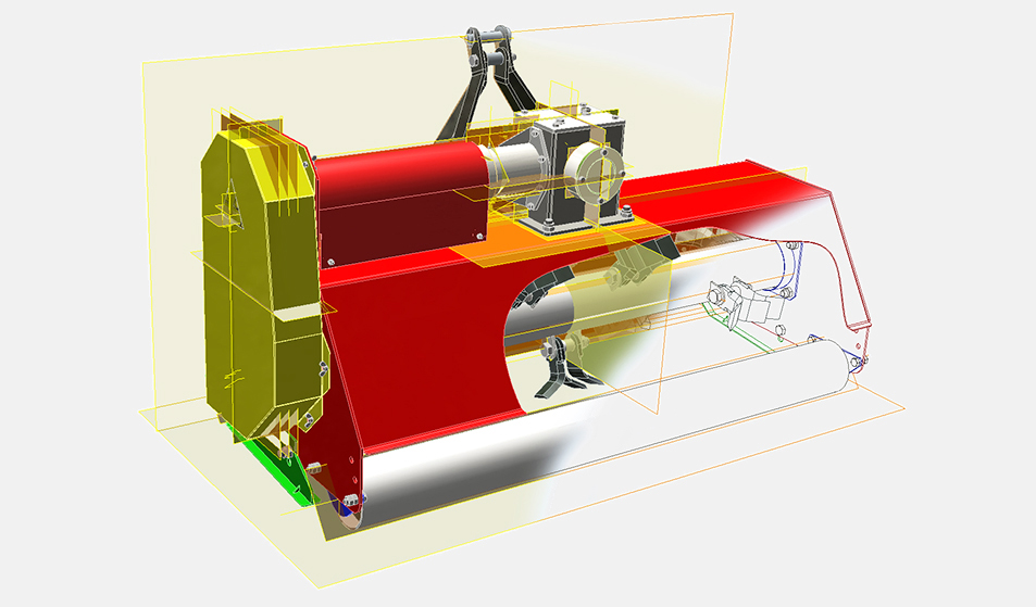 Мульчерователь (измельчитель) GM-135