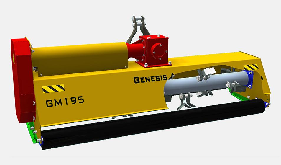 Мульчерователь (измельчитель) GM-195