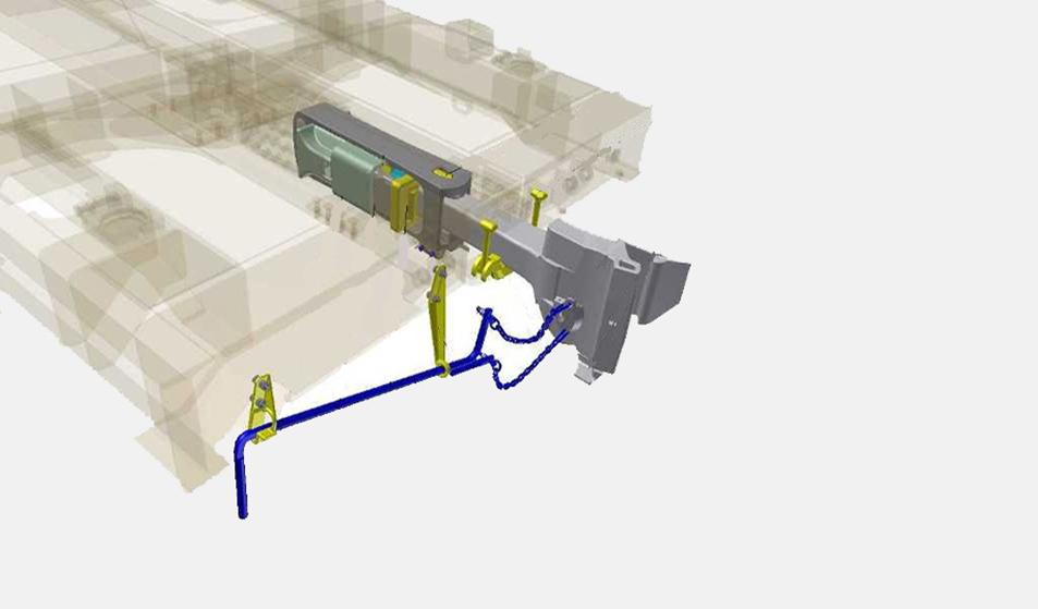 Австосцепное устройство грузового вагона